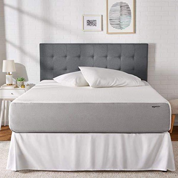 AmazonBasics - Memory Foam Mattress - Extra Support Bed, Medium Firm Feel, 12-Inch, Queen Size