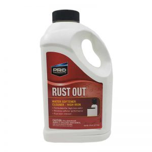 Rust Out Water Softener Cleaner High Iron