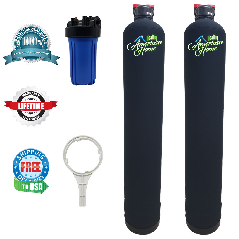 Whole House Water Filter and Salt-Free Water Conditioner