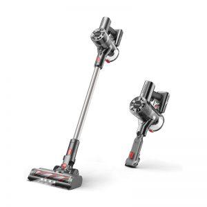 Cordless Vacuum, Stick Vacuum Cleaner with 200W 22Kpa Super Suction 2000mAh Battery 4 in 1 Handheld Vacuum for Pet Hair Carpet Hard Floor, T200
