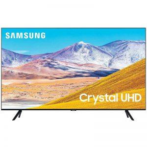 SAMSUNG 65-inch Class Crystal UHD TU-8000 Series - 4K UHD HDR Smart TV with Alexa Built-in (UN65TU8000FXZA, 2020 Model)