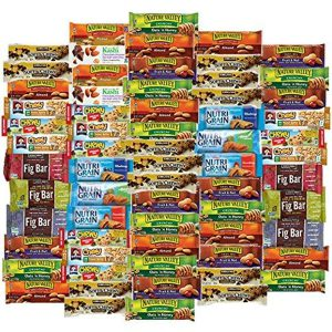 Healthy Snacks To Go Healthy Mixed Snack Box & Snacks Gift Variety Pack (Care Package 66 Count)