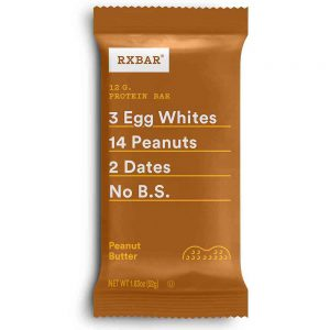 RXBAR, Peanut Butter & Berries, Protein Bar, 1.83 Ounce (Pack of 12), High Protein Snack, Gluten Free