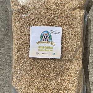 Bakery On Main | Happy Oats | Organic Rolled Oats | USDA Organic | Gluten-Free | Non GMO Project Verified | Kosher | 7.5 Pound Resealable Bag (Pack of 2)