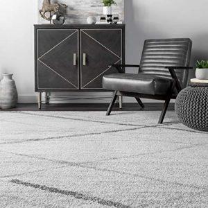 nuLOOM Thigpen Contemporary Area Rug, 12' x 15', Grey