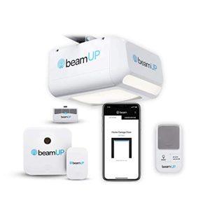 The Sentry - BU400 - WiFi Garage Door Opener, Smart Home Garage Opener - Alexa Enabled, Garage Security Sensors Included, NO Subscription FEES - White