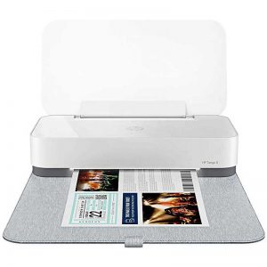 HP Tango X Smart Wireless Printer with Indigo Linen cover – Mobile Remote Print, Scan, Copy, HP Instant Ink, Works with Alexa (3DP64A)