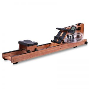 BATTIFE Water Rowing Machine Red Walnut Wood with Bluetooth Monitor Home Gyms Fitness Indoor Use