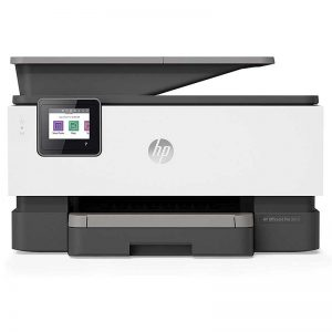 HP OfficeJet Pro 9015 All-in-One Wireless Printer, with Smart Home Office Productivity, HP Instant Ink, Works with Alexa (1KR42A)