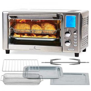 Emeril Lagasse Power Air Fryer Oven 360 | 2020 Model | Special Edition | 9-in-1 Multi Cooker | Free Emeril's Recipe Book Included |Digital Display, Slick Design, Ultra Quiet, 12 Preset Programs | With Special 1 Year Warranty | As Seen On TV
