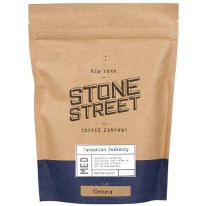 Stone Street Coffee Tanzania Peaberry Fresh Roasted Coffee Whole Bean Coffee, 1 Pound