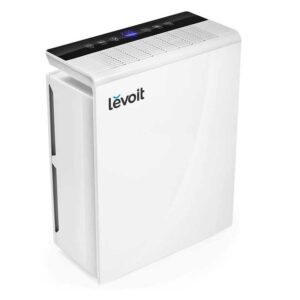 LEVOIT Air Purifier for Home Large Room,Smoke Eater and Odor Killer, H13 True HEPA Filter for Bedroom, Auto Mode & 12h Timer, Cleaners for Allergies and Pets, Mold Pollen Dust, LV-PUR131, White