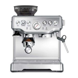 Breville the Barista Express Espresso Machine, BES870XL,Stainless Steel,Large