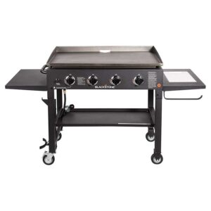 Blackstone 1825 36-Accessory Griddle with Side Shelf, 36 inch-4 Burner-W-New