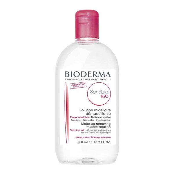 Bioderma - Sensibio H2O - Micellar Water - Cleansing and Make-Up Removing - Refreshing feeling - for Sensitive Skin