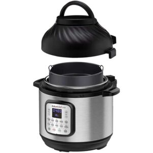 Instant Pot Duo Crisp Pressure Cooker 11 in 1 with Air Fryer, 8 Qt, Cook and Crisp