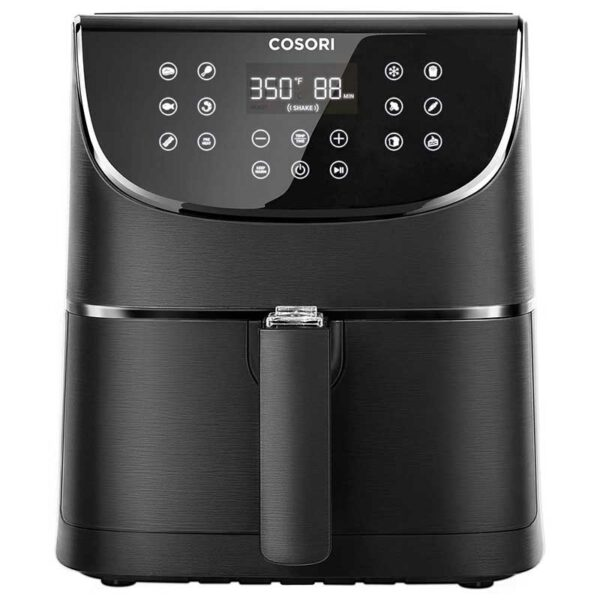 COSORI Air Fryer(100 Free Recipes Book), 1500-Watt Programmable Base for Air Frying, Roasting & Keep Warm, Electric Hot Oven Oilless Cooker,11 Cooking Presets, LED Touch Screen, 3.7QT