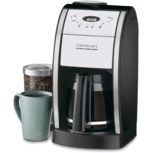 Cuisinart DGB-550BKP1 Grind & Brew Automatic Coffeemaker, 12 Cup, Black