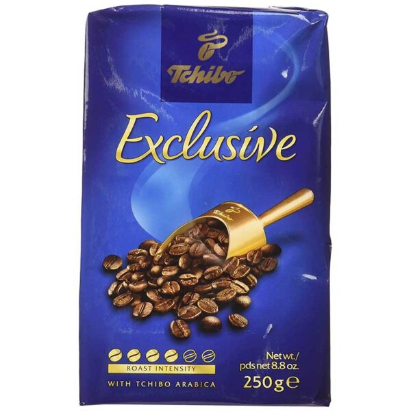 Tchibo, Coffee Exclusive, 8.8-Ounce (12 Pack) - SET OF 4