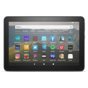 All-new Fire HD 8 tablet, 8-HD display, 32 GB, designed for portable entertainment, Black