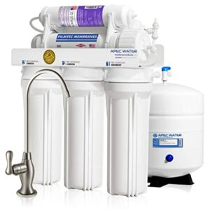 APEC Top Tier Supreme Certified Alkaline Mineral pH+ High Output 90 GPD 6-Stage Ultra Safe Reverse Osmosis Drinking Water Filter System (ULTIMATE RO-PH90)
