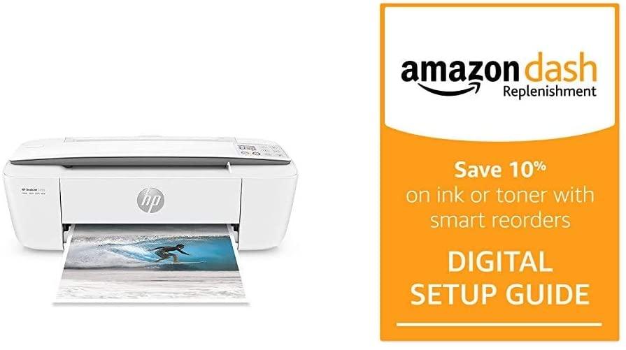 HP DeskJet 3755 Compact All-in-One Wireless Printer, HP ...